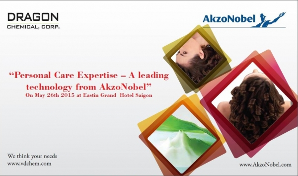 Seminar: Personal Care Expertise - A Leading Technology from Akzo Nobel - May 26, 2015